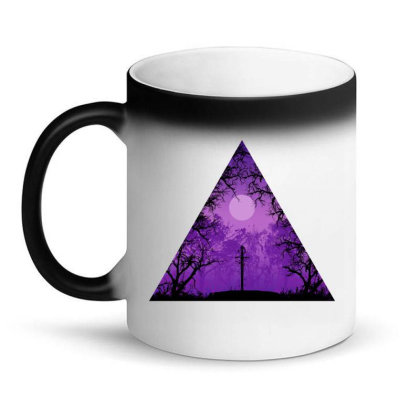 Hero Legend Sword Magic Mug Designed By Kahvel
