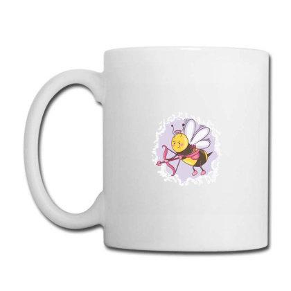 Cupid Bee Coffee Mug Designed By D'metra
