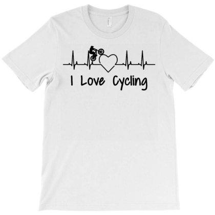 I Love Cycling T-shirt Designed By Ismi