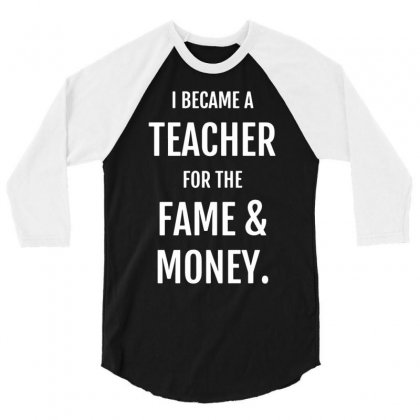 Fame & Money 3/4 Sleeve Shirt Designed By Gematees