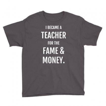 Fame & Money Youth Tee Designed By Gematees