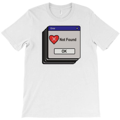 Love Not Found T-shirt Designed By Fahmifutri