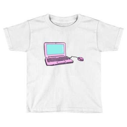 Laptop Toddler T-shirt Designed By Lauraopep
