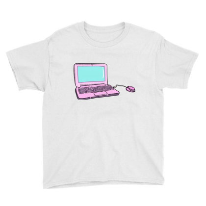Laptop Youth Tee Designed By Lauraopep