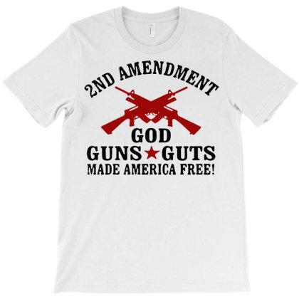 2nd Amendment God Guns T-shirt Designed By Hot Trends