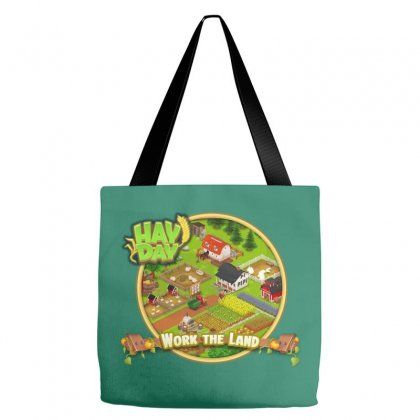 Work The Land Tote Bags Designed By Dwi Ariyanto