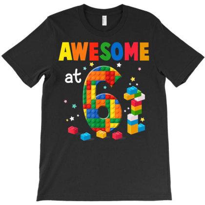 6th Birthday Shirt 6 Year Old Boy Gift T Shirt ,happy Birthday T-shirt Designed By Ryan2204