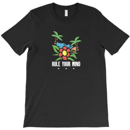 Rule Your Mind T-shirt Designed By Fahmifutri