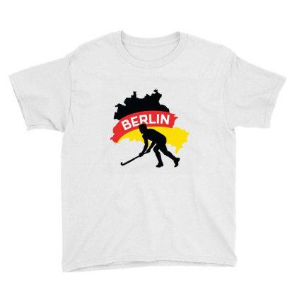 Germany Ice Hockey Youth Tee Designed By Cloudystars