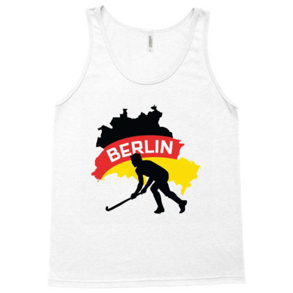 Germany Ice Hockey Tank Top Designed By Cloudystars