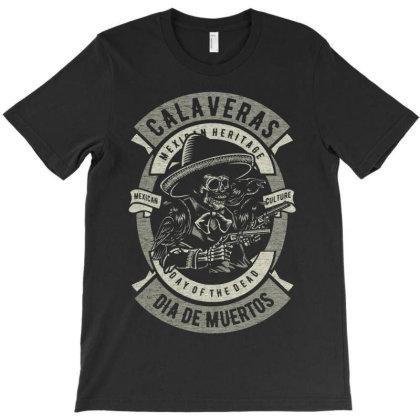 Calaveras T-shirt Designed By Koopshawneen