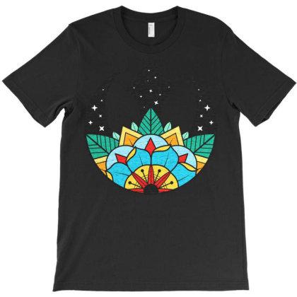 Rebel Rose In Space T-shirt Designed By Koopshawneen