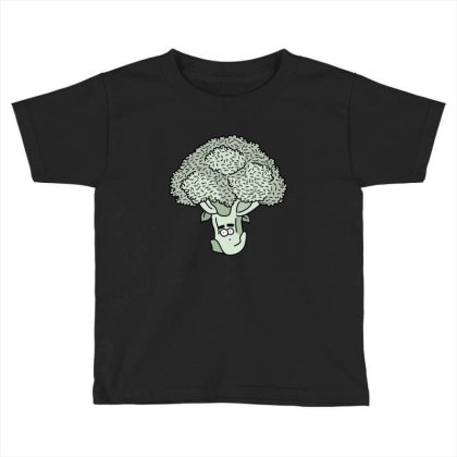 Broccoli Face Toddler T-shirt Designed By Lauraopep