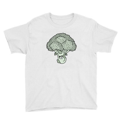 Broccoli Face Youth Tee Designed By Lauraopep
