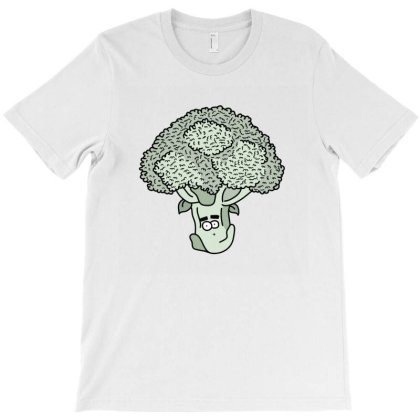 Broccoli Face T-shirt Designed By Lauraopep