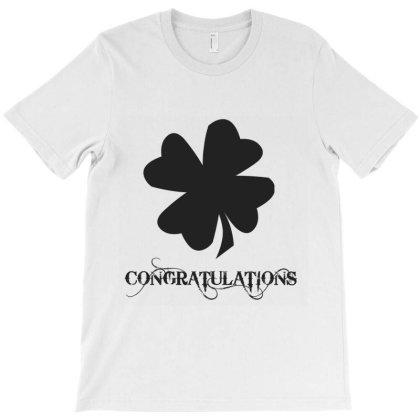 Congratulations T-shirt Designed By Artmaker79