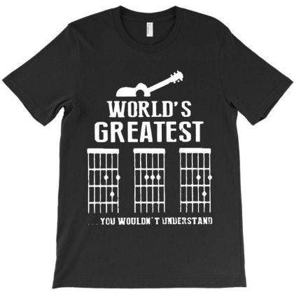 World's Greatest  Guitar Chord Vintage T-shirt Designed By Sie Sie