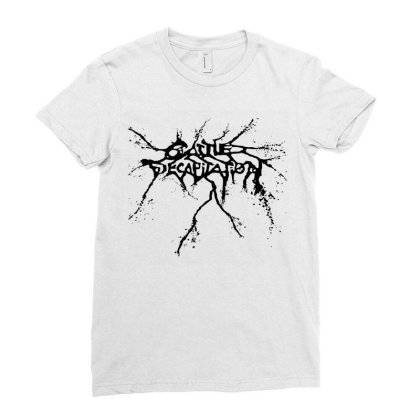 Cattle Decapitation Ladies Fitted T-shirt Designed By Honey Shop