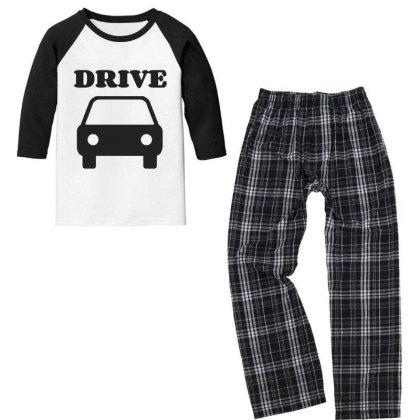 Drive Youth 3/4 Sleeve Pajama Set Designed By Artmaker79