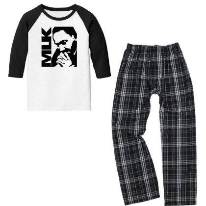 Mlk Youth 3/4 Sleeve Pajama Set Designed By Fahmifutri