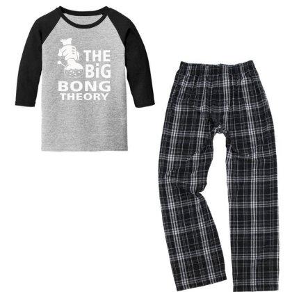 Big Bong Theory Youth 3/4 Sleeve Pajama Set Designed By Prakoso77