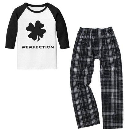 Perfection Youth 3/4 Sleeve Pajama Set Designed By Artmaker79