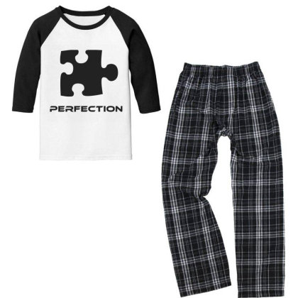Game Perfection Youth 3/4 Sleeve Pajama Set Designed By Artmaker79