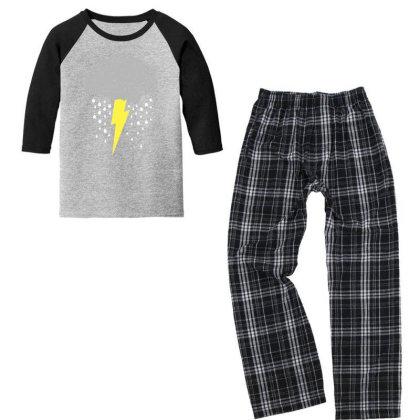 Brainstorm Youth 3/4 Sleeve Pajama Set Designed By Prakoso77