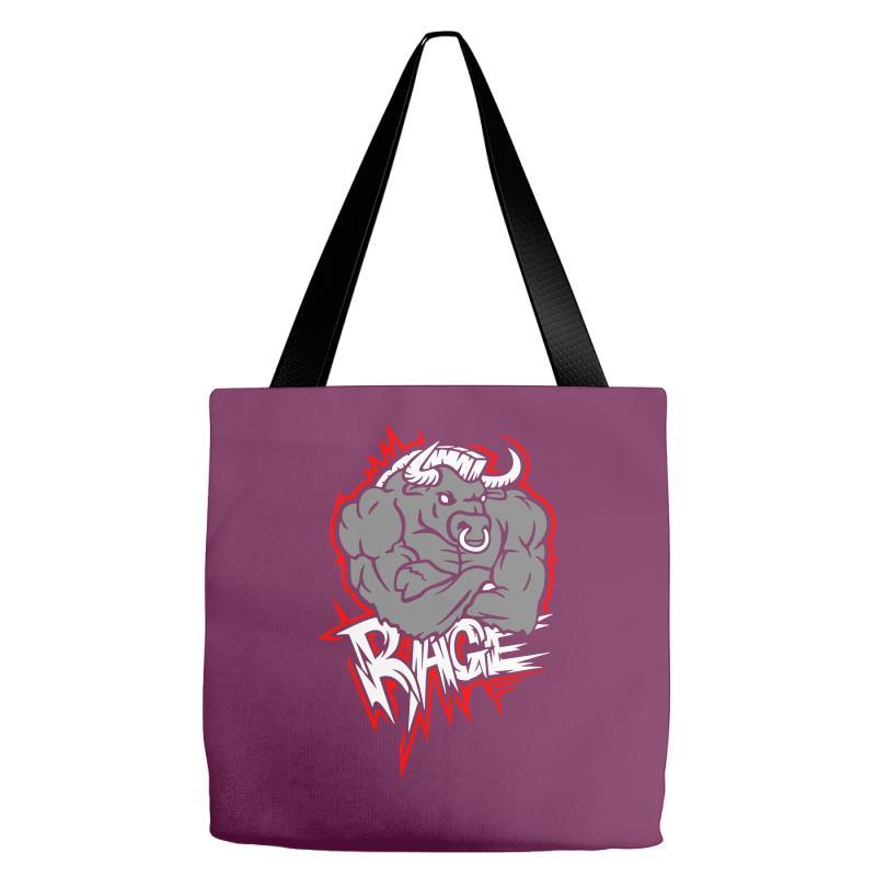 Animal Rage Tote Bags | Artistshot