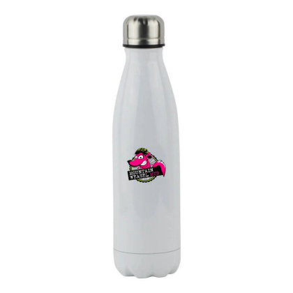 Mountain Weasel Classic Mountain Biking Stainless Steel Water Bottle Designed By Frendos