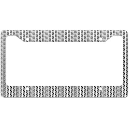 Music Vinyl Party License Plate Frame Designed By Zig Street