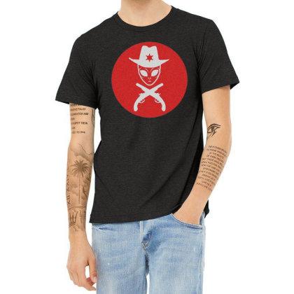 Ovni Alien Heather T-shirt Designed By Zig Street