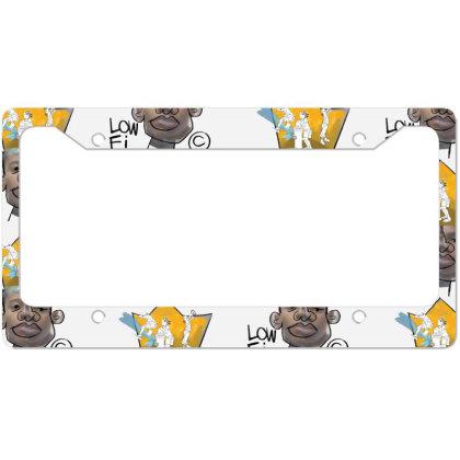 Lowfi Memory Lane Heather Tee License Plate Frame Designed By Frendos