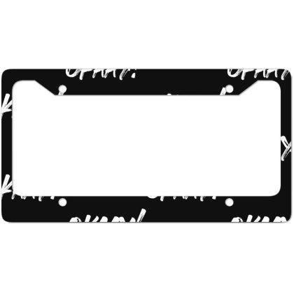 Lil Jon  Okaay License Plate Frame Designed By Frendos