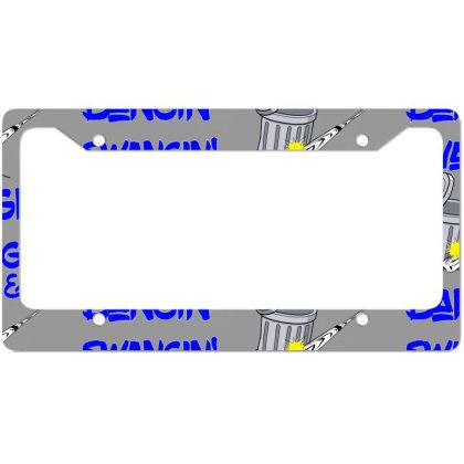 Houston Swangin Team License Plate Frame Designed By Elga Vaniaputri
