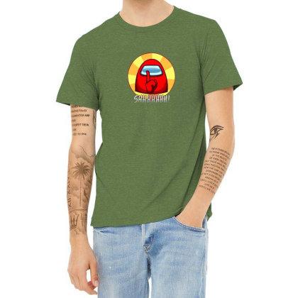 Among Us Game Heather T-shirt Designed By Elga Vaniaputri