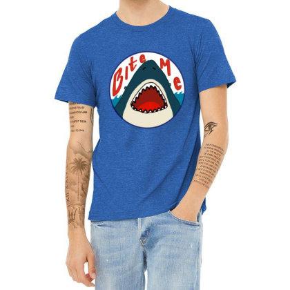 Fish Predator Heather T-shirt Designed By Elga Vaniaputri
