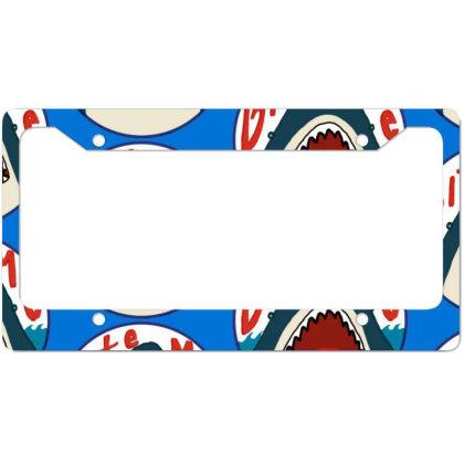 Fish Predator License Plate Frame Designed By Elga Vaniaputri