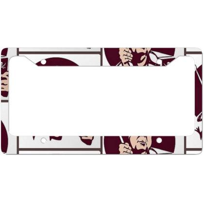 International License Plate Frame Designed By Elga Vaniaputri