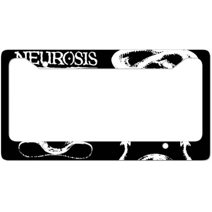 Nomeansno Neurosis Album License Plate Frame Designed By Tasha