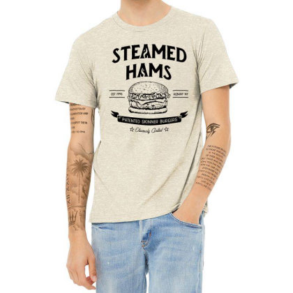 Steamed Hams Heather T-shirt Designed By Daddy's Shop