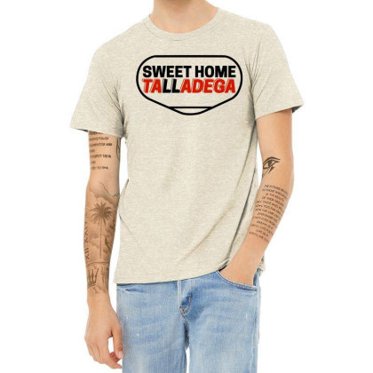 Sweet Home Talladega Heather T-shirt Designed By Daddy's Shop