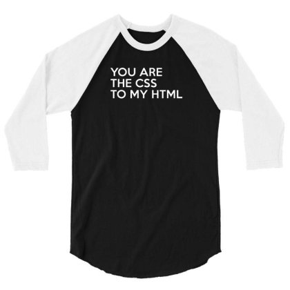 Css To My Html 3/4 Sleeve Shirt Designed By Prakoso77