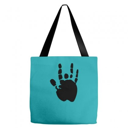 Black Grateful Dead Jerry Garcia Hand Tote Bags Designed By Yudyud