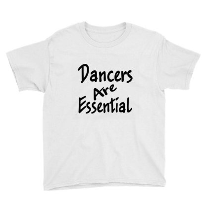 Dancers Are Essential Sleeveless Top Youth Tee Designed By Starlight