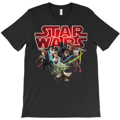 Star Wars T-shirt Designed By Badaudesign