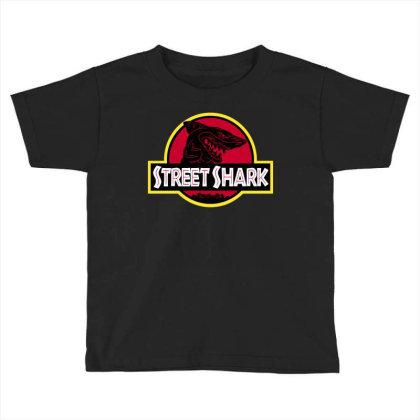 Streetshark Toddler T-shirt Designed By Raffiti
