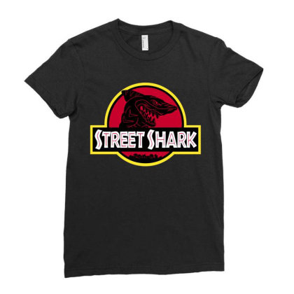 Streetshark Ladies Fitted T-shirt Designed By Raffiti