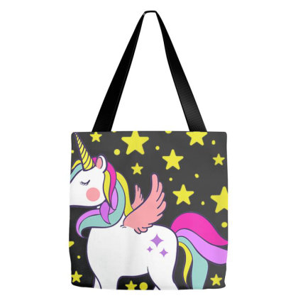School Day,adorable 100 Days Of Magical Learning School Unicorn T Shir Tote Bags Designed By Ryan2204