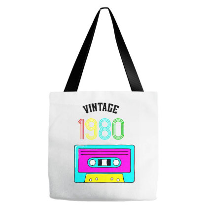Vintage 80s Tote Bags Designed By Zig Street